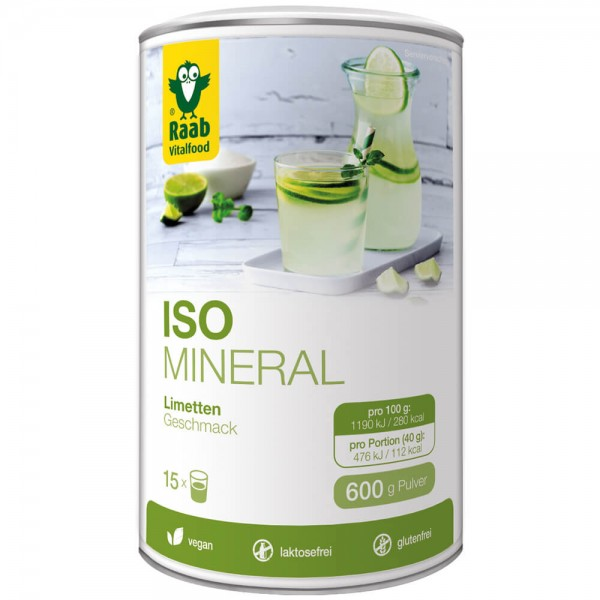 Iso-Mineral Limette Pulver